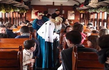 El Tren de Navidad comienza su mágico viaje el 26 de diciembre