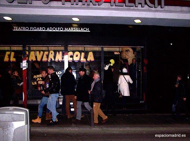 «El cavernícola» de Nancho Novo en el Teatro Fígaro