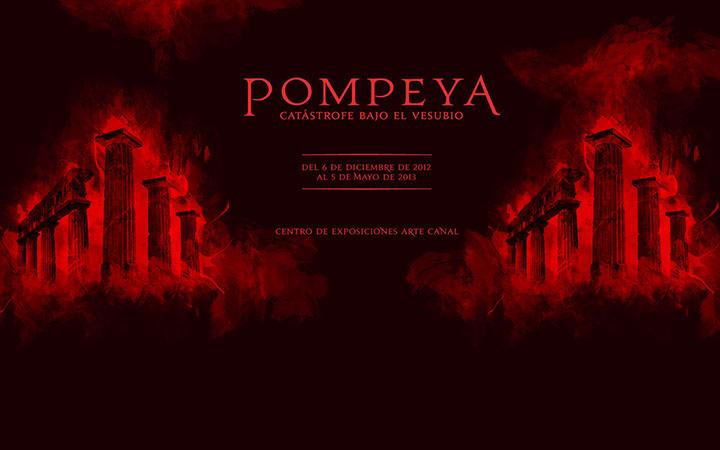 """""""Pompeya, catástrofe bajo el Vesubio"""", en la Sala de Exposiciones Arte Canal de Madrid"""