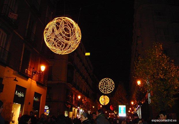 iluminacion navideña madrid
