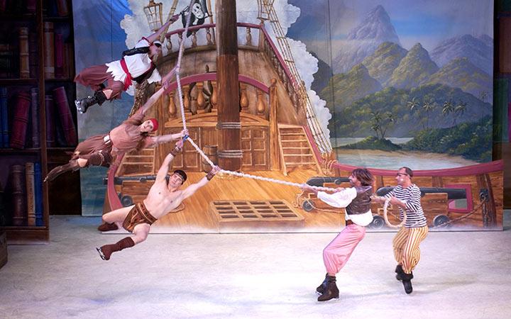 Peter Pan sobre hielo en el Teatro Nuevo Apolo de Madrid