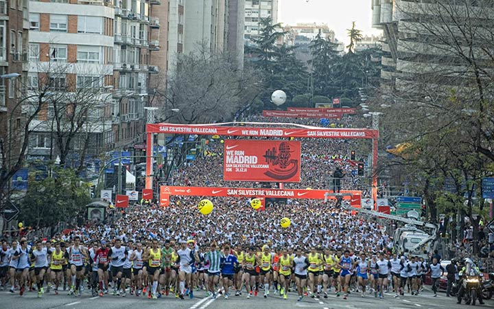 San Silvestre Vallecana 2012 en Madrid
