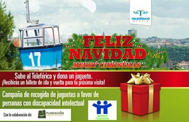 Campaña Solidaria de recogida de juguetes en Teleférico de Madrid