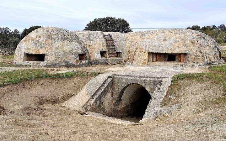 Un búnker de la Guerra Civil forma parte del Plan de Yacimientos Visitables con entrada libre en la Comunidad de Madrid