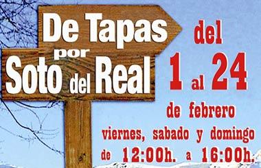 """""""De Tapas por Soto del Real"""""""