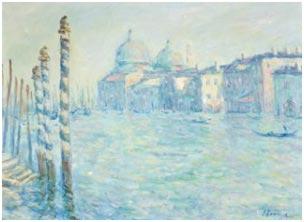 Elmyr de Hory emulando a Monet