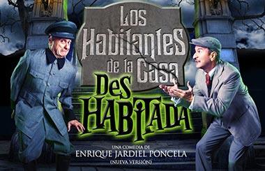 Los Habitantes de la Casa Deshabitada en el Teatro Fernán Gómez