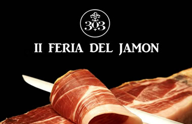 Degusta Jamón Gratis en la II Feria del Jamón en 303 GIN BAR