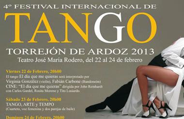 Torrejón de Ardoz celebra el IV Festival Internacional de Tango
