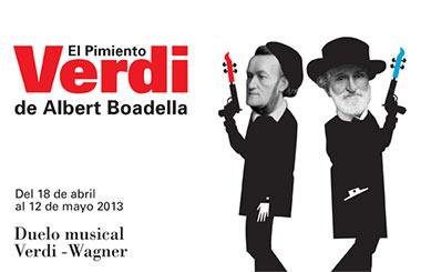 """""""El pimiento Verdi"""", un duelo musical entre Verdi y Wagner en los Teatros del Canal"""