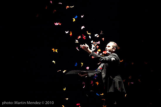 """Jorge Blass y """"El Arte de la Magia"""" en el Teatro Compac Gran Vía"""
