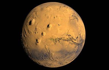 """Exposición """"Paisajes de Marte"""" en el Planetario de Madrid"""