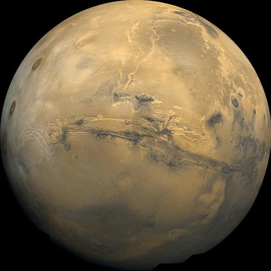 Paisajes de Marte Planetario Madrid