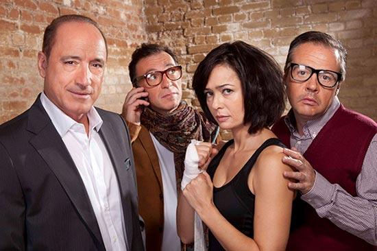 Hombres de 40, una comedia sobre la famosa crisis de los 40 en el Teatro Marquina