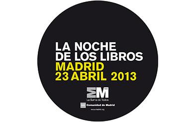 El martes 23 de abril se celebra la Noche de los Libros con más de 500 actividades en Madrid