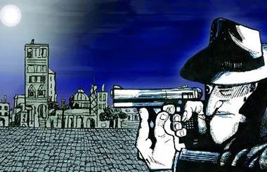 Tormentos, Película dibujada en el Instituto Italiano de Cultura de Madrid