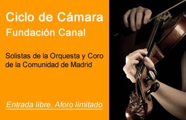 Concierto gratuito Ciclo de Cámara en La Fundación Canal