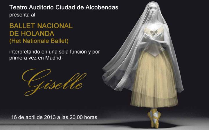 Llega a Madrid «Giselle» de la mano del Ballet Nacional de Holanda
