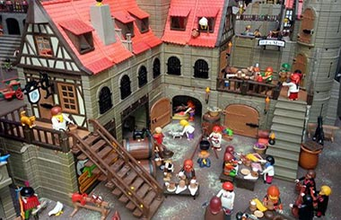 """Feria de Coleccionistas de Playmobil en el Centro """"Dune Experience"""" de Pozuelo de Alarcón"""