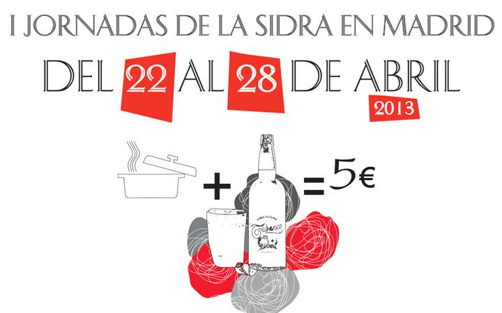 I Jornadas Sidra Natural en Madrid 2013