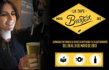 """La Tape celebra el Festival """"BEER FEST"""" del 20 al 31 de Mayo"""