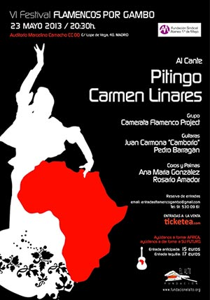 Flamencos por Gambo