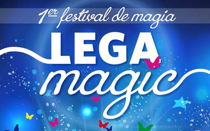 """I Festival de magia """"LEGAMAGIC"""" en Leganés del 10 al 12 de mayo"""