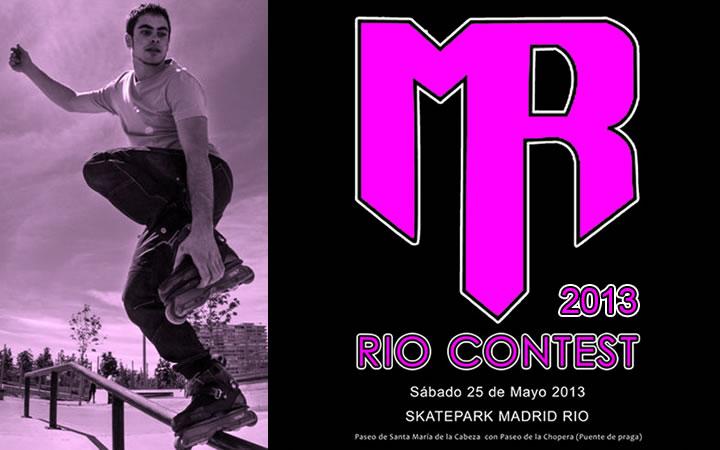 MadRoll Rio Contest 2013, los mejores patinadores de España en el skatepark de Madrid Río