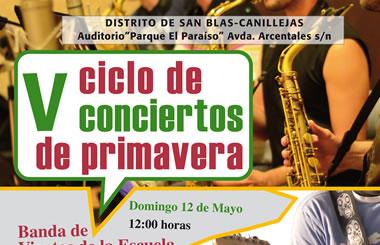 V Ciclo de Conciertos de Primavera en San Blas 2013