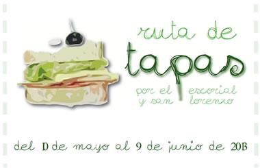 I Ruta de Tapas de El Escorial y San Lorenzo, hasta el 9 de junio
