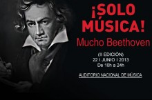 ¡SOLO MÚSICA! Mucho Beethoven
