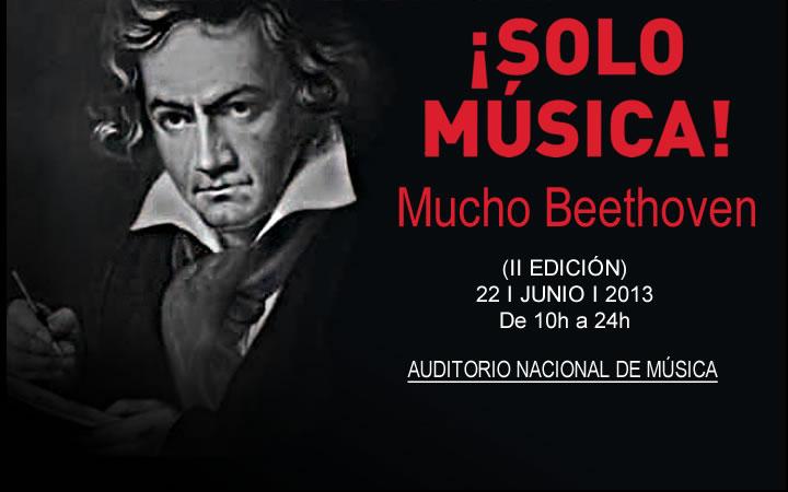 """""""¡SOLO MÚSICA! Mucho Beethoven"""", disfruta de las 9 sinfonías de Beethoven al precio de un concierto"""