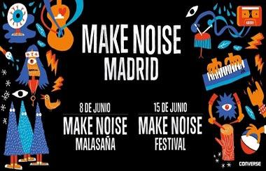 """Make Noise Malasaña"" y ""Make Noise Festival"", conciertos gratuitos de grupos emergentes"