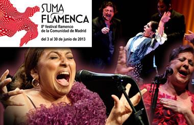SUMA FLAMENCA 2013, Festival Flamenco de la Comunidad de Madrid