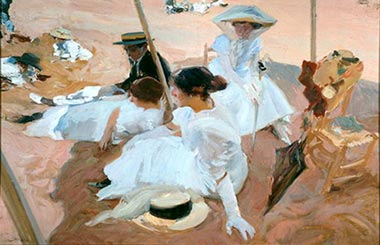 SOROLLA. EL COLOR DEL MAR
