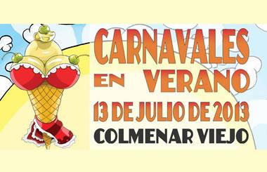 Carnaval de Verano de Colmenar Viejo 2013, sábado 13 de julio