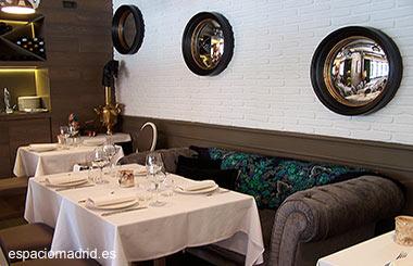 Fishka, restaurante fusión ruso-mediterráneo