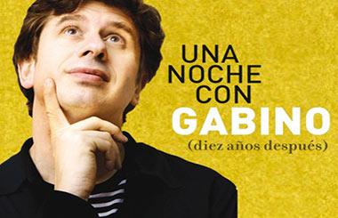 """Sorteamos 20 entradas dobles para """"Una noche con Gabino (diez años después)"""" en el Teatro Amaya"""