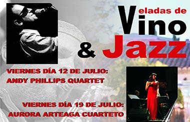 Veladas de vino y jazz en NAVALCARNERO INFINITO