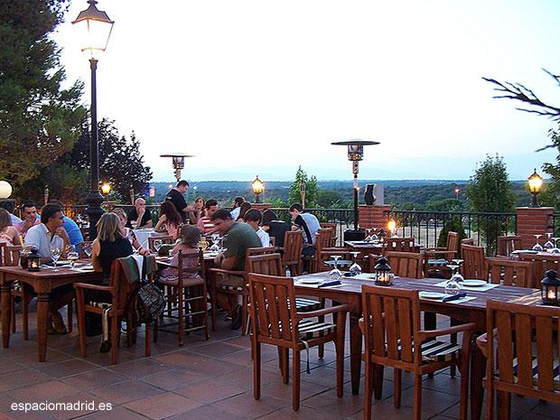 Noches La Cañada, nueva terraza en Madrid con buenas vistas, buen precio y deliciosa cocina