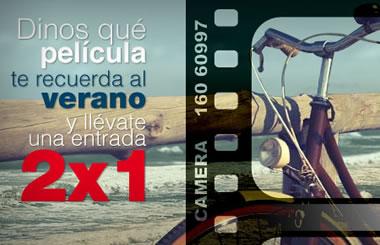 En el cine como en casa, piensa en tu película veraniega y gana una entrada 2×1
