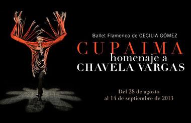 «Cupaima. Homenaje Flamenco a Chavela Vargas» en los Teatros del Canal
