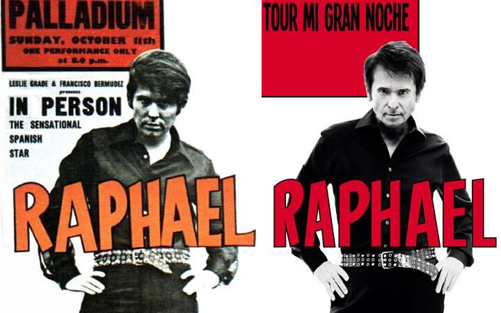 Raphael en concierto en el Teatro de la Zarzuela