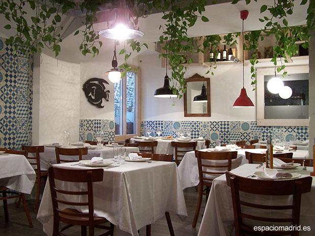 Puerto Lagasca, restaurante con aire mediterráneo en el barrio de Salamanca
