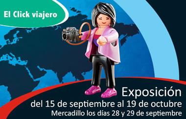 """Exposición de Playmobil """"El Click Viajero"""" en El Centro Comercial Gran Vía de Hortaleza"""