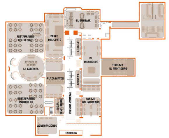 Millweek by mahou alta cocina a tu alcance espacio madrid for Planos de cocina de restaurante con medidas
