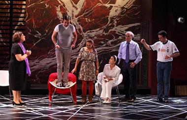 Toc toc en su ya 5 temporada en el teatro pr ncipe gran Teatro principe gran via