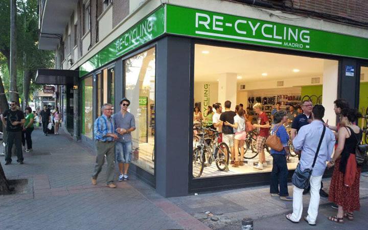 Recycling Madrid, la primera tienda física de bicicletas de segunda mano en Madrid
