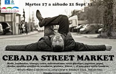 Cebada Street Market: mercadillo al estilo londinense en La Latina
