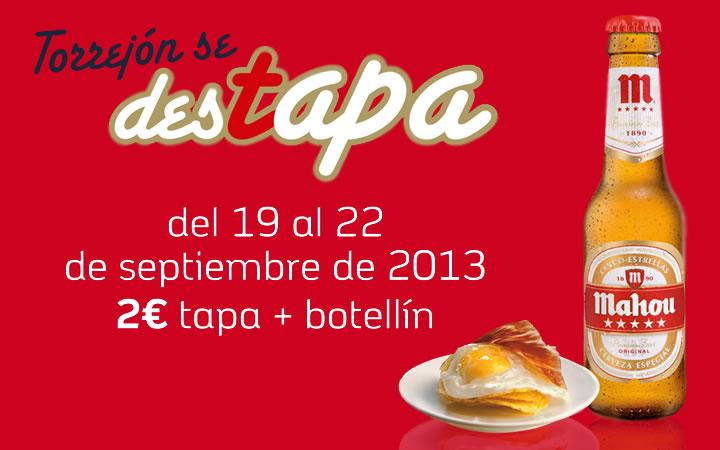 """VI Feria de las tapas """"Torrejón se destapa"""" 2013"""
